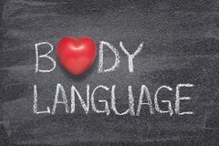 Free Body Language Heart Stock Image - 140260781
