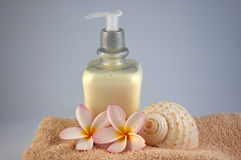 Body lotion Stock Images