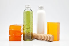 Body lotion Stock Photography