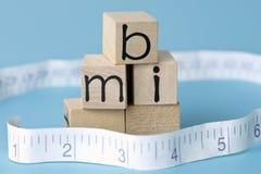 Body-Maß-Index Stockbild