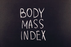 Body mass index Stock Images