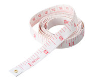 Body measure tape Royalty Free Stock Images