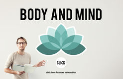 Body and Mind Concentration Restoration Spiritual Healthcare Con. Cept Stock Photo