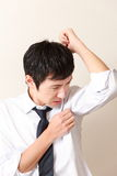 Body odor Royalty Free Stock Images