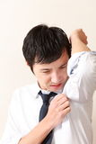Body odor Royalty Free Stock Image