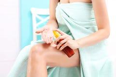 Body oil Stock Photos