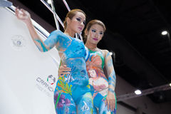 Body paint Stock Images