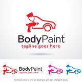 Body Paint Logo Template Design Vector Royalty Free Stock Photos