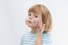 Body painting Royalty Free Stock Photography
