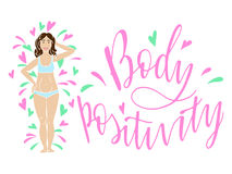 Body positivity Stock Photo