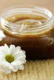 Body scrub Stock Photo