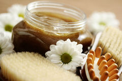 Body scrub Stock Photography