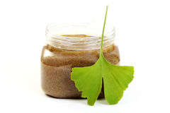 Body scrub Royalty Free Stock Image