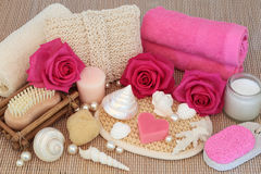 Body Scrub Beauty Products Royalty Free Stock Images