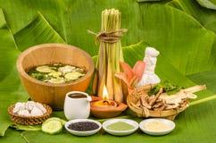 Body Scrub, Skin hydration, herbal Thailand. Stock Photography