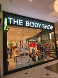 THE BODY SHOP Royalty Free Stock Photography