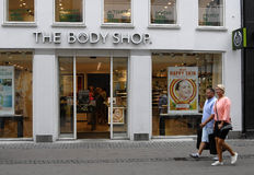 THE BODY SHOP Stock Images