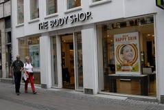 THE BODY SHOP Stock Photos
