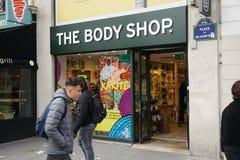 Body Shop powierzchowność w Paryż zdjęcie royalty free