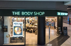 The Body Shop Store Front in a Mall Royalty Free Stock Image