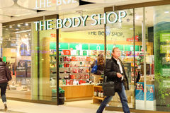 The Body Shop Royalty Free Stock Photo