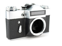 Body of SLR-camera Royalty Free Stock Photo