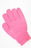 Body-smoothing scrub glove Royalty Free Stock Photo