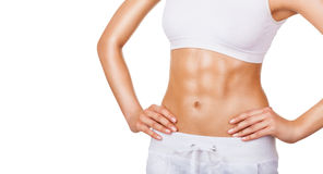 Perfect female body Royalty Free Stock Images