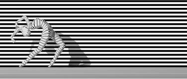 Body stripes Stock Image