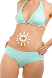 Body and sun-4 Royalty Free Stock Images