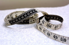 Body Tape Measure Stock Photography