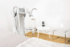 Body treatment clinic with advanced equipment Stock Image