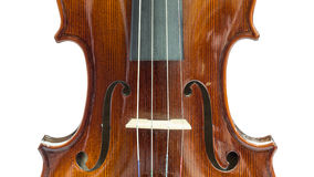 Body of violin Stock Photos