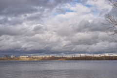 Body of water in the Moscow river Stock Photography