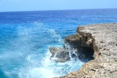 Body of Water and Sea Rock Royalty Free Stock Images