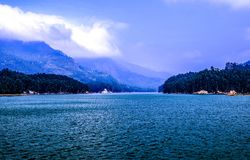 Body of Water Under Blue and White Sky Royalty Free Stock Photos