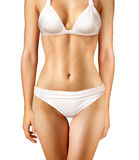 Body of woman. Body of woman on white background Royalty Free Stock Images