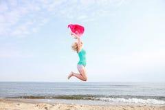 Body woman summertime fun concept Royalty Free Stock Photos
