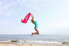 Body woman summertime fun concept Royalty Free Stock Images