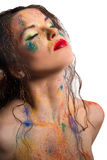 Bodyart Foto de Stock
