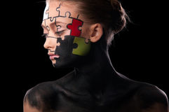 Bodyart Royalty Free Stock Photo