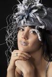 Bodyart das mulheres Imagens de Stock Royalty Free