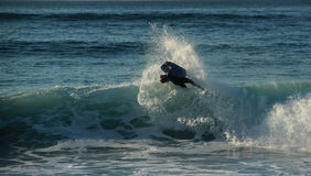 Bodyboard Photographie stock libre de droits