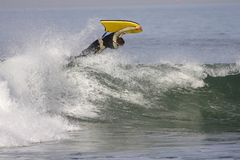 Bodyboard Stock Photo