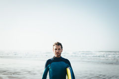Bodyboard man portrait Royalty Free Stock Photo