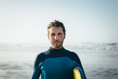 Bodyboard man portrait Royalty Free Stock Photography