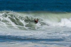 Bodyboarder στη δράση Στοκ εικόνες με δικαίωμα ελεύθερης χρήσης