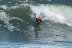 Bodyboarder στη δράση Στοκ Εικόνα