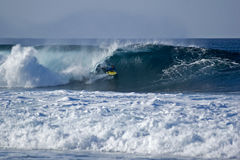 Bodyboarder 1 Royalty Free Stock Images