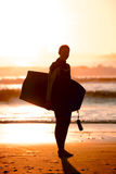 Bodyboarder Royalty Free Stock Photos